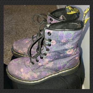 Doc Marten Castel Flower boots - EUC